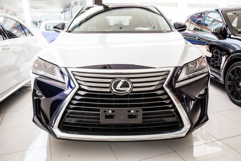 Lexus RX 350 Blue 2016