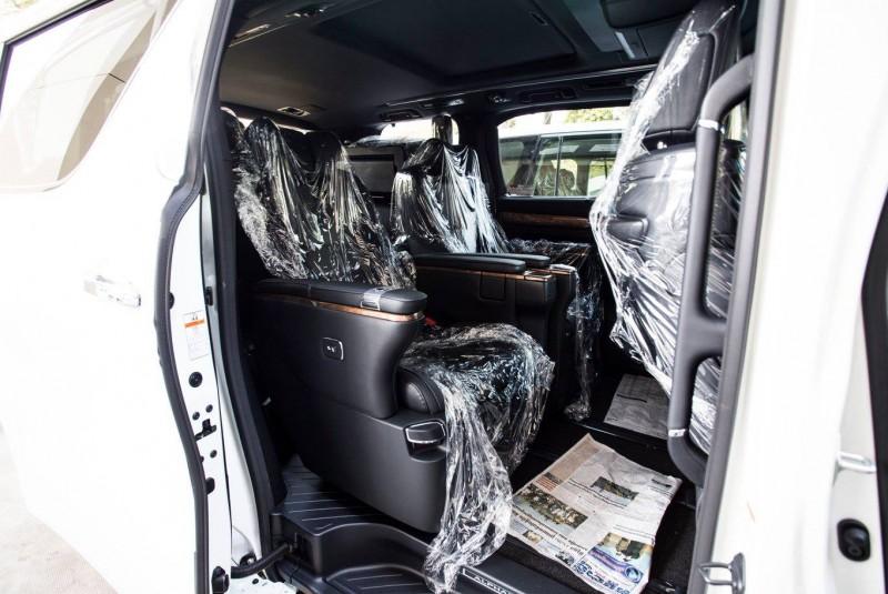 TOYOTA Alphard Executive Lounge 2016 White