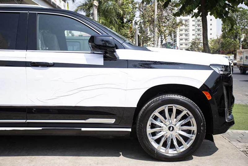 2021 Cadillac Escalade Premium Luxury Platinum Black