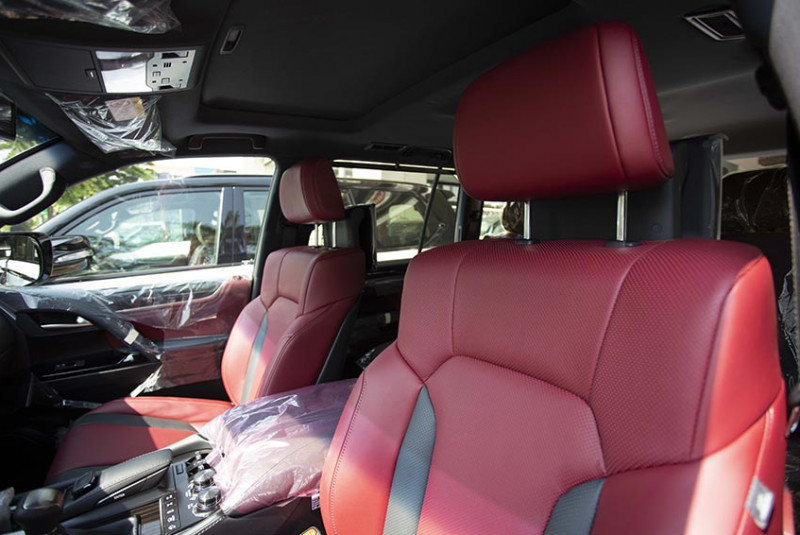 2021 Lexus LX 570 Super Sport Black