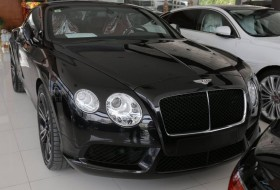 Bentley continental GT Black 2013